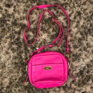 Pink J. Crew crossbody bag
